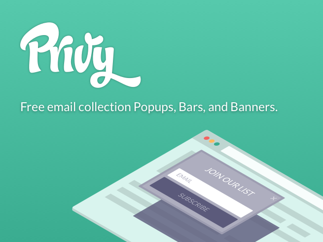 Privy - Email Popups with Exit Intent