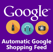 Automatic Google Shopping Feed
