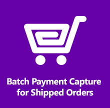 Batch Payment Capture for Shipped Orders