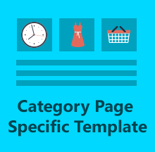 Category Page Specific Template