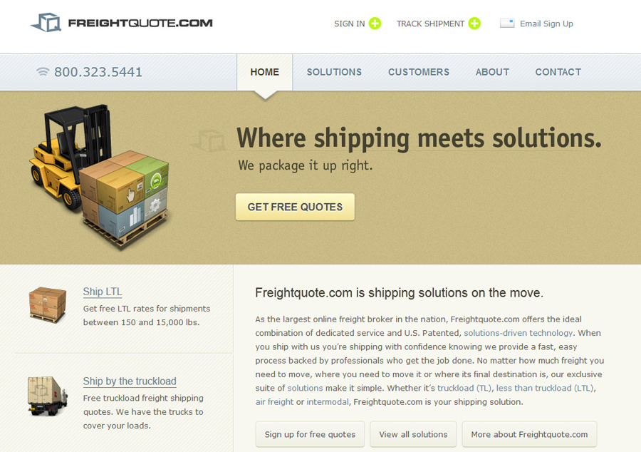 Freight Quote Beauteous Freightquote