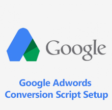 Google Adwords Conversion Script Setup