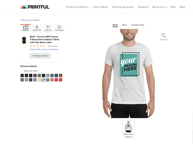 Printful On-Demand Shirt Dropshipping | Reviews & Pricing