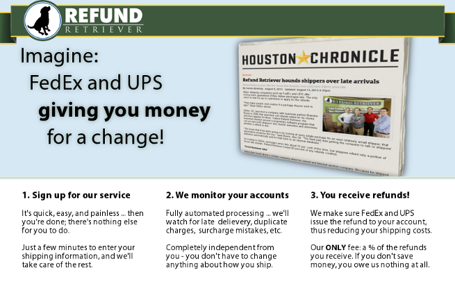 Refund Retriever - UPS & FedEx Auditing