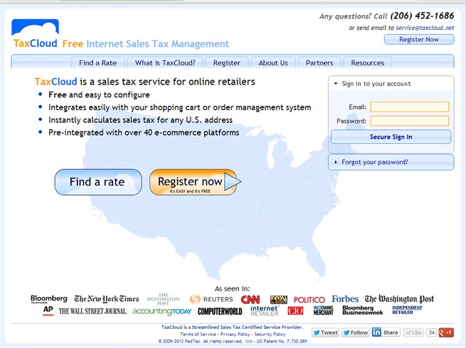 b6fe7b061b07 TaxCloud Reviews   Pricing